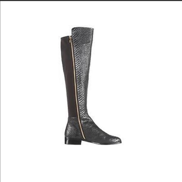Michael Kors Snake Skin Boots | Poshmark